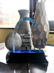 This year marks the 8th Cartus award received by Compass, including 7 additional Excellence awards and 1 Supplier Innovation award.