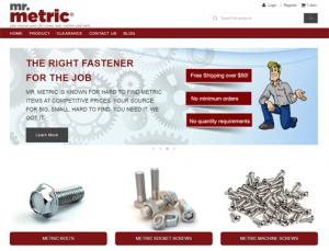 Metric Fasteners by Mr. Metric