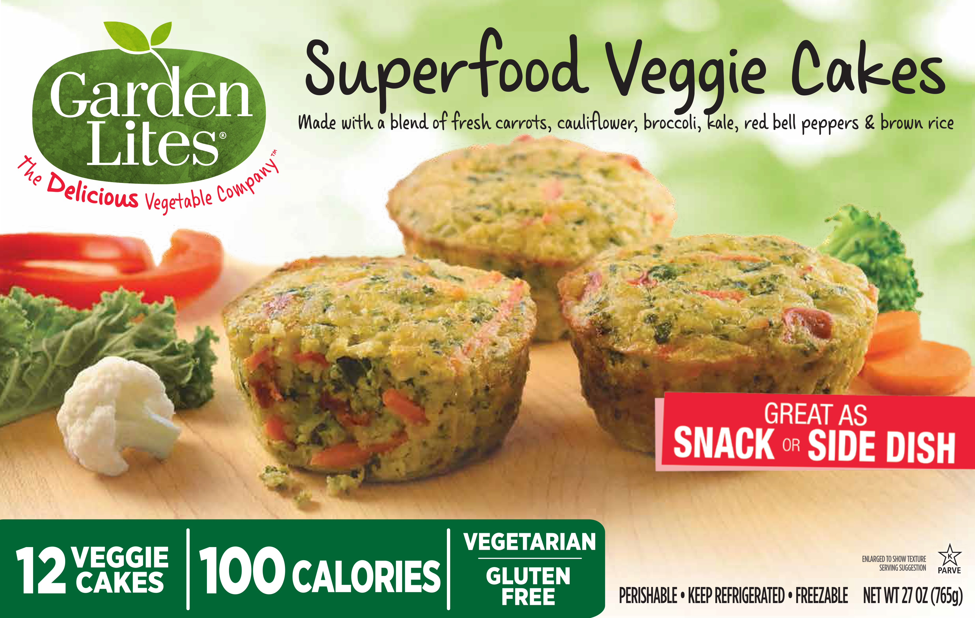 Superfood Veggie Cakes