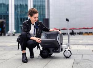 riding(rideable) Luggage(suitcase)