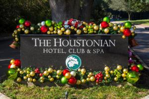Holiday fun at The Houstonian Hotel Club and Spa in Houston Texas