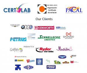 Certolab - Our Clients
