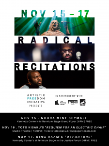 Radical Recitations Events