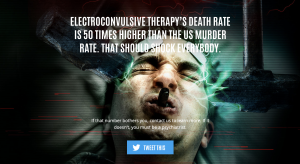 CCHR wants regulations that ensure greater criminal and civil penalties for continued violations of patient care, patient suicides and damage inflicted from dangerously administered treatment, including electroshock therapy (ECT).