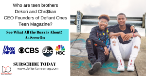 Teen Brothers CEO Founders of Teen Magazine