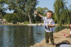 Kids of all ages got hooked on fishing as they learned new skills.