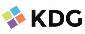 logo for philanthropic crowdfunding team at KDG