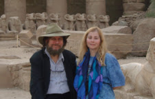 Drs. J.J. & Desiree Hurtak at Karnak, Egypt (c)