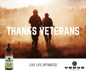 Verve Thanks Veterans