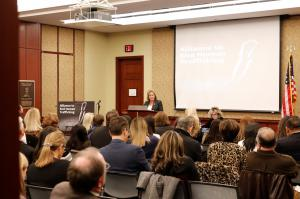 Congresswomen Ann Wagner (MO-2) spoke on the importance of reducing demand for sex trafficking