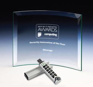 Image of product and award from recent award ceremony