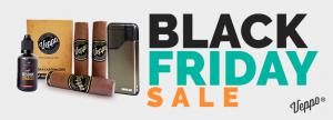 Online vape store Veppo announces Black Friday sale.