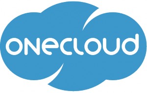 OneCloud Logo. The easy way to integrate your enterprise applications.