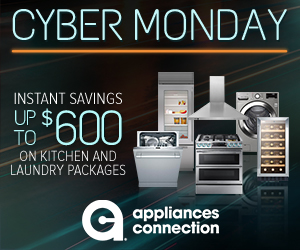 Appliances Connection 2019 Cyber Monday Sale: Horizontal