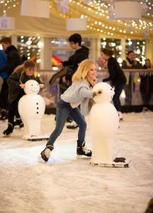 Fun on ice at the Saint Hill holiday ice rink