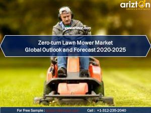 Zero-turn  mower market report name 2025
