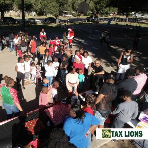 2018 Tax Lions Toy Giveaway