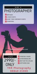 Event Photographer in Bangalore
