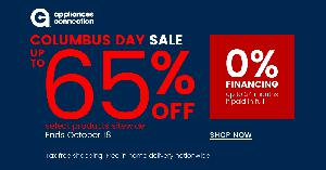 Appliances Connection 2017 Columbus Day Sale