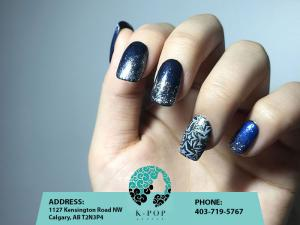 K-Pop Secret Beauty Studio Calgary Nail Art
