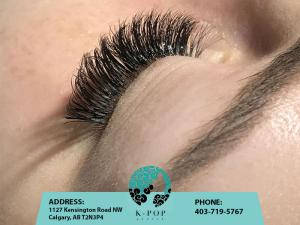 K-Pop Secret Beauty Studio Calgary Eyelashes