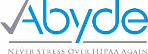Abyde allows providers to never stress over HIPAA again