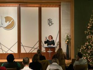 Forum at the Church of Scientology Portland focused on detecting and preventing human trafficking.
