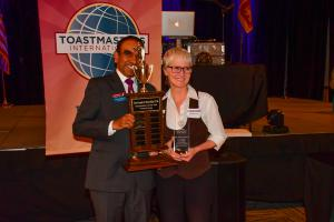 Rebecca Murray Toastmaster of the Year 2017