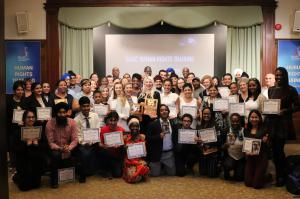 Human Rights training graduates