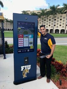 FLORIDA INTERNATIONAL UNIVERSITY CUSTOM WAYFINDING SOLUTION.