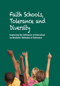 Students Faith Diversity Tolerance