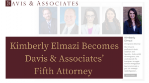 Kimberly Elmazi Becomes Davis & Associates' Newest Attorney