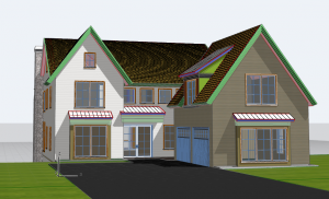 ARCHICAD Plan by SPACIALISTS for ESA Luxury Living