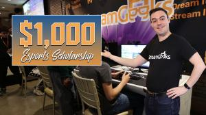 Esports Scholarship for live streaming
