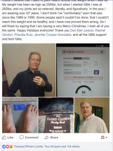 Gastric Bypass ALTERNATIVE  Facebook managed by Don Karl Juravin