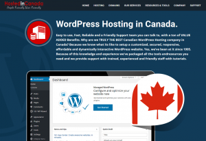 WordPress Hosting in Canada