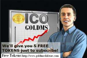 Gold Medal Star Blockchain Free Tokens