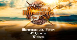 Logo for the 4th quarter Illustrators of the Future Contest