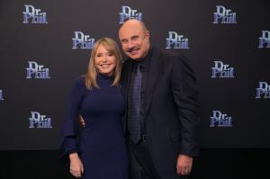 Elite Connections CEO Sherri Murphy with Dr. Phil (Telephone: 310-870-7463)