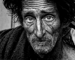 Image of a poor man