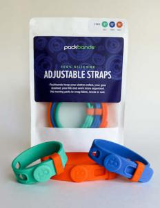 Packbands bundle of 3 storage straps