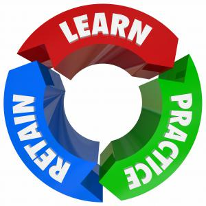 Onboard training tools enable a Learn-Practice-Retain cycle that is very effective for training custodians.