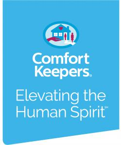 Comfort Keepers Robbinsville in home senior care Corporate Logo in Blue