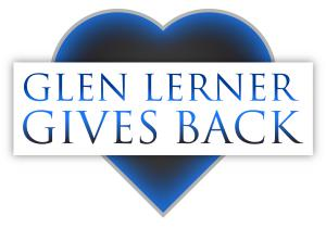 Glen Lerner Gives Back