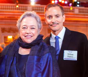 Kathy Bates and William Repicci