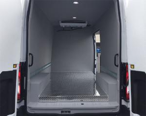 Refrigerated Van Interior