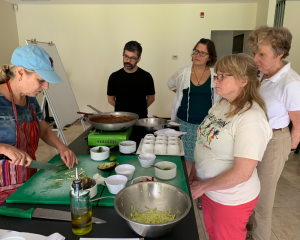 Susan Waxman Cooking Lesson
