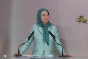 Maryam Rajavi, the President-elect of the National Council of Resistance of Iran