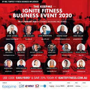 Fitness Business Event