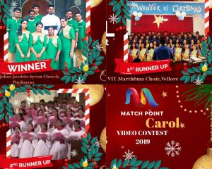 Match Point Christmas Carol Contest